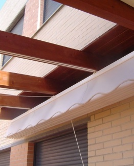 toldo plegable